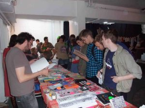 People really liked the creativity of the zines..