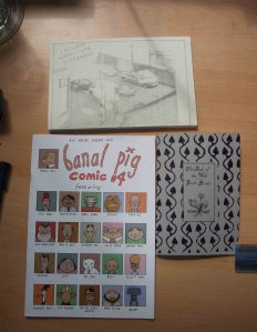 Some more zines I bought: Banal Pig, The Smell of the Wild and I Always Knew I Was Different