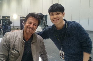 Managed to meet John  Romita Jr before he took off!