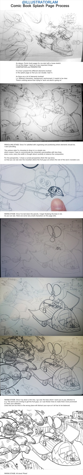 FFWW Splash Page Process pt1
