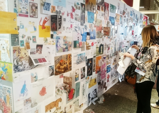BCBF2016 Illustrators Wall